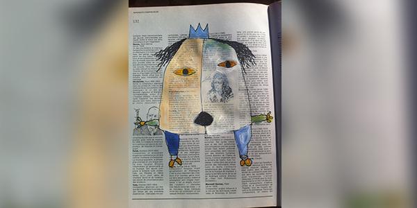 اللوحة للفنّان التشكيلي: أكرم زافى - سوريا