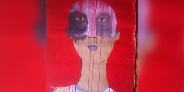 اللوحة للفنان التشكيلي: أكرم زافى - سوريا