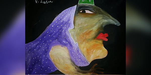 اللوحة للفنَّان التشكيلي: أكرم زافى- سوريا
