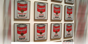 عمل فني للفنان الأمريكي أندري وارهول