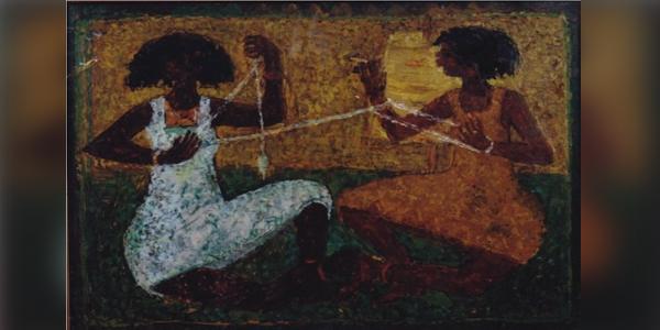 اللوحة: سيد عبد الرسول