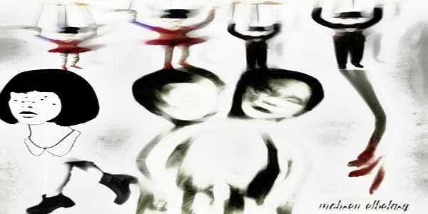 اللوحة لـ: محسن البلاسي