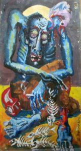 اللوحة لـ: ياسر عبد القوي
