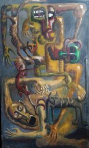 اللوحة لـ ياسر عبد القوي