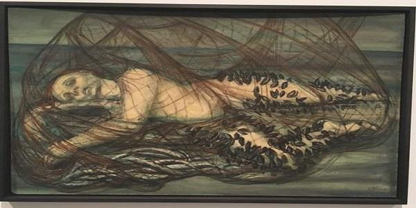 اللوحة: أيمي نمر